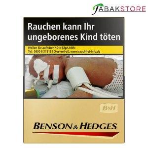 Benson-&-Hedges-Gold-8,00-Euro-mit-23-Zigaretten