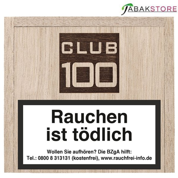 Agio-Club-100-Zigarillos-Holzkiste