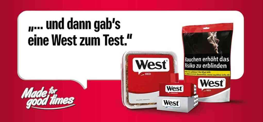 Gratis West Zigaretten