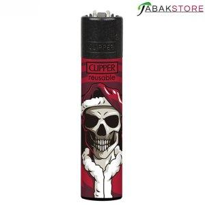 Clipper-Dead-Red-Feuerzeug