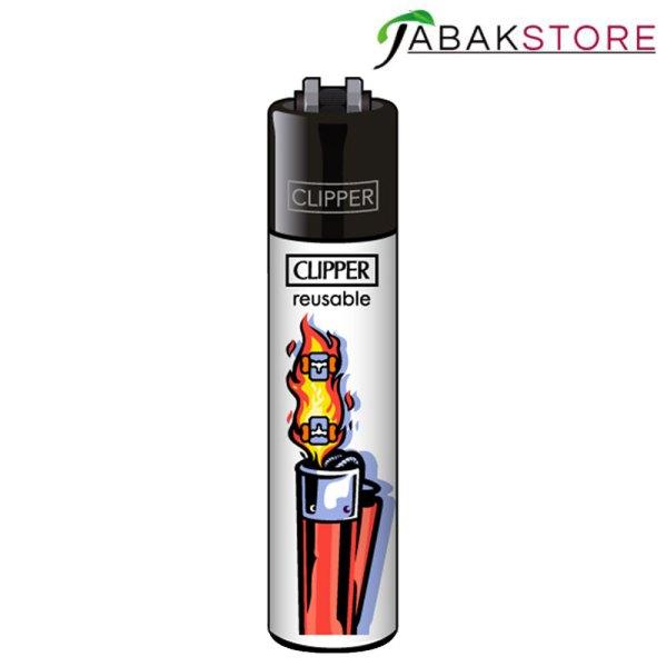 Clipper-Feuerzeug-Flammen-Abstrakt-Version-2-von-4
