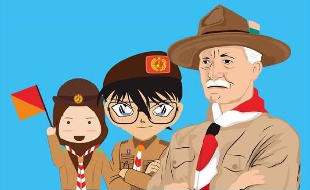 Sejarah Pramuka Indonesia & Dunia Beserta Pengertian, Prinsip Dasar Pramuka