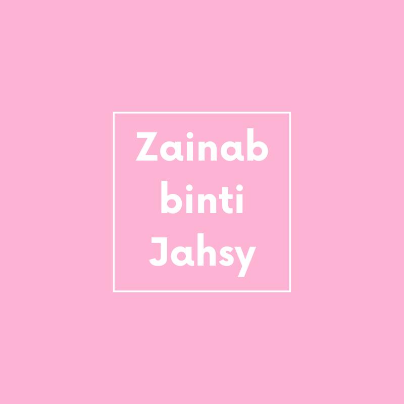 kisah zainab binti jahsy