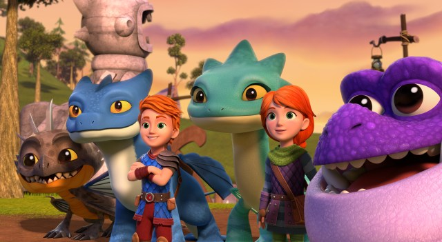 DreamWorks Animation DRAGONS RESCUE RIDERS,