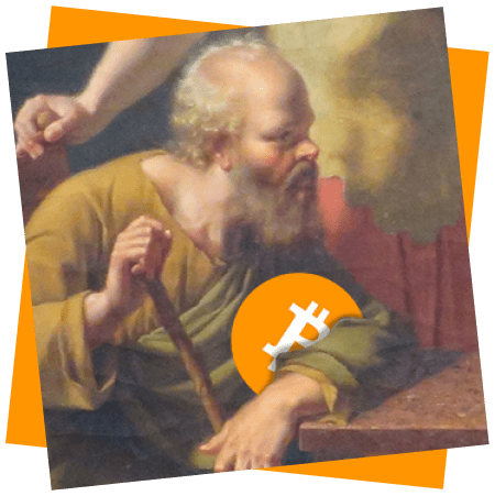 Painting of Socrates