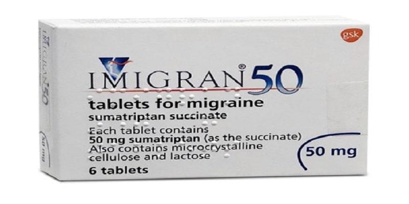 دواء اميجران Imigran لعلاج الصداع النصفي الجرعات والمحاذير