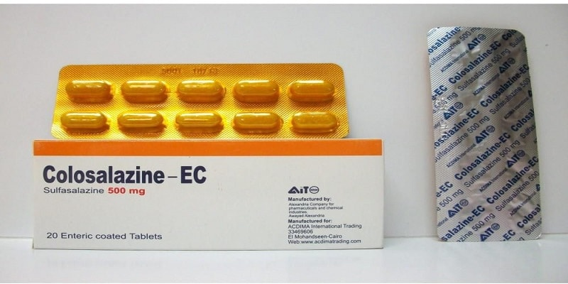 دواء سلفاسالازين Sulphasalazine دواعي الاستخدام والمحاذير
