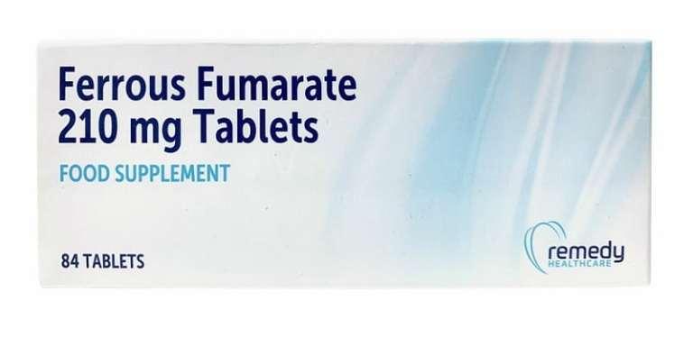 فورمات الحديد Ferrous fumarate لفقر الدم الجرعات والمحاذير