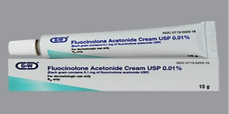 كريم فلوسينولون Fluocinolone دواعي الاستخدام والآثار الجانبية