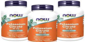 سترات البوتاسيوم Potassium citrate لعلاج التهاب المثانة الجرعات