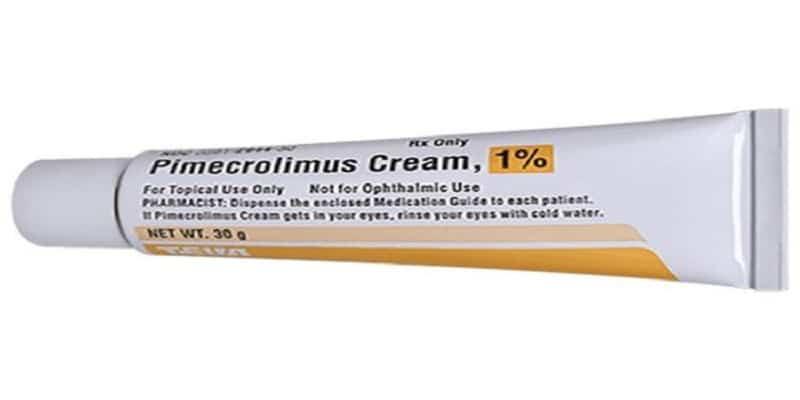 كريم بيميكروليموس Pimecrolimus دواعي الاستخدام والمحاذير