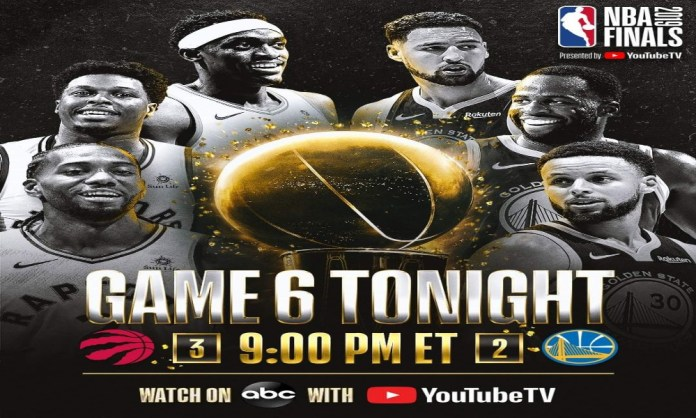 Onde a assistir a Toronto Raptors x Golden State Warriors 13/06/2019 – NBA 2018/19