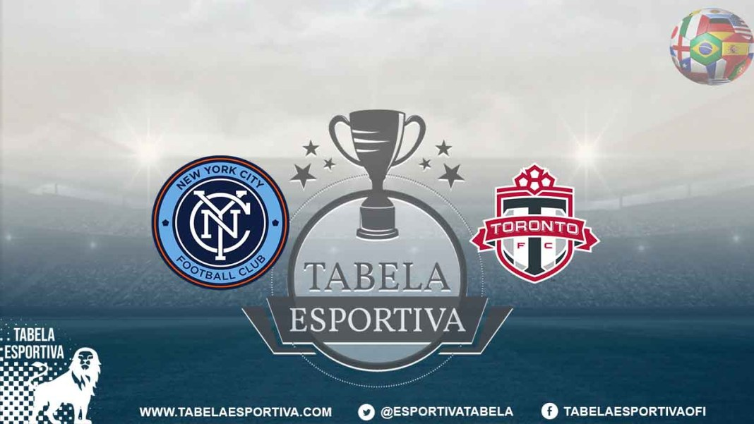 Onde a assistir a New York City x Toronto FC 11/09/2019 – MLS