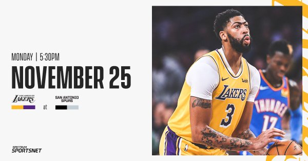 Onde a assistir a Los Angeles Lakers x San Antonio Spurs 25/11/2019 – NBA
