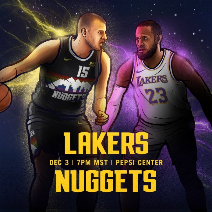 Onde a assistir a Los Angeles Lakers x Denver Nuggets 03/12/2019 – NBA