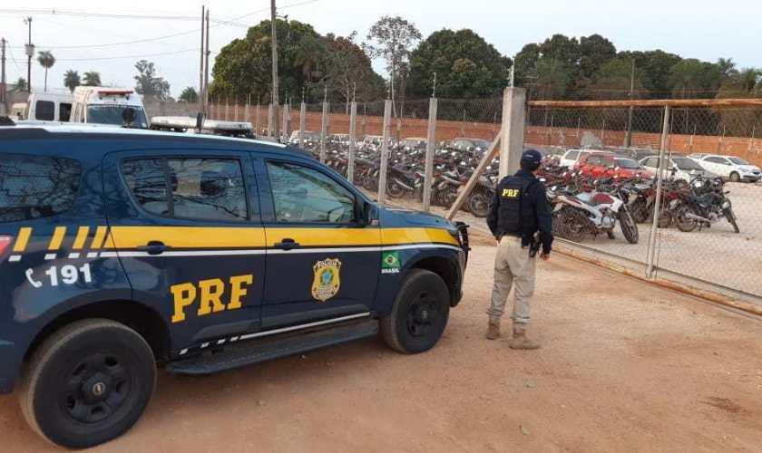 Leilão veículos apreendidos da Polícia Rodoviária Federal (PRF)