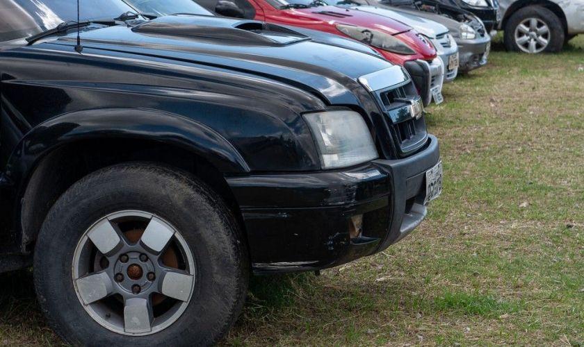 Leilão do Detran vende carros com até 50% de desconto