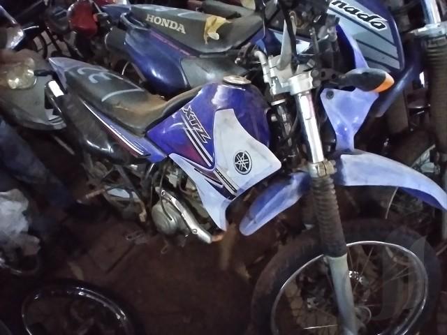 Leilão do Detran tem Yamaha XTZ 125, lance inicial de R$ 1.500,