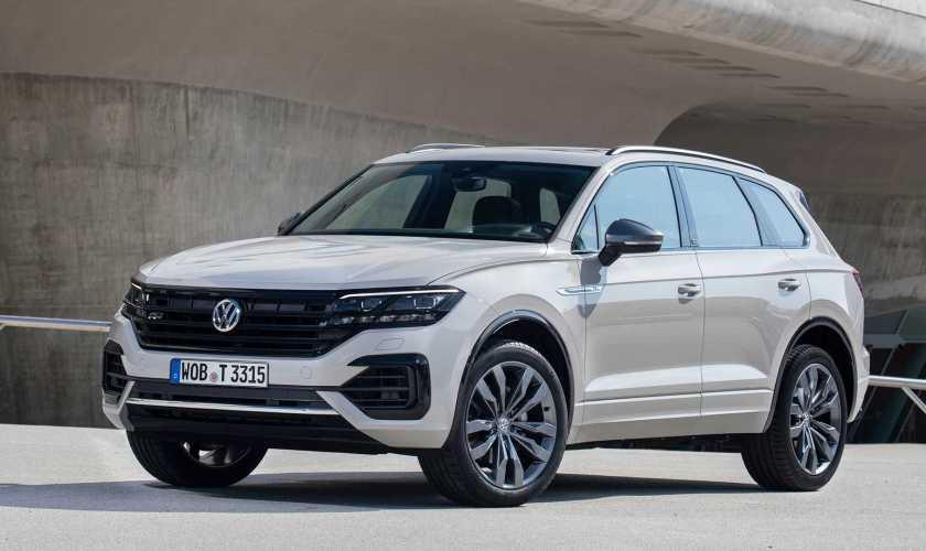 Visual e Design da Volkswagen Touareg 2021, veja abaixo