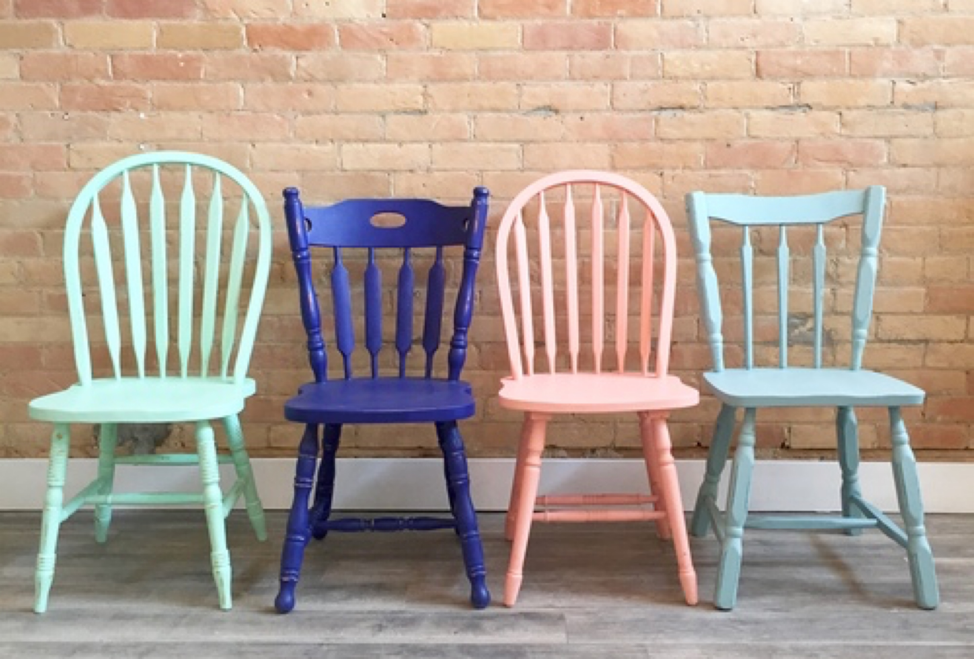 Chalk Paint Chairs Chalk Painted Chairs Tabella Talks