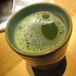 おにぎり浅草宿六 - 最後はあったか~いお茶で。