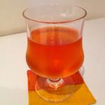 セイロンドロップ - ホリデーランチセット(1200円) 水出し紅茶(ストレート)