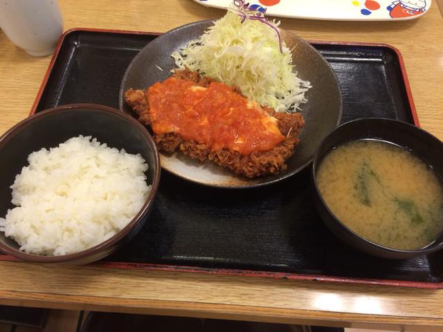 「トマトチーズチキンカツ 松乃屋」の画像検索結果