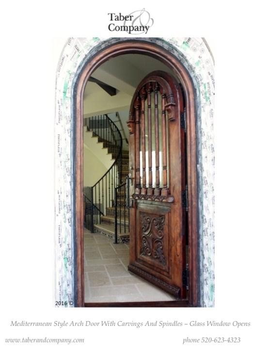 Custom Wood Doors Taber Amp Companytaber Amp Company