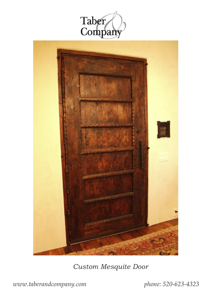 ... Wood Doors Tuscan Mediterranean Spanish Hacienda Style from Taber \u0026 Company  sc 1 st  Taber \u0026 Company & Custom Wood Doors - Taber \u0026 CompanyTaber \u0026 Company