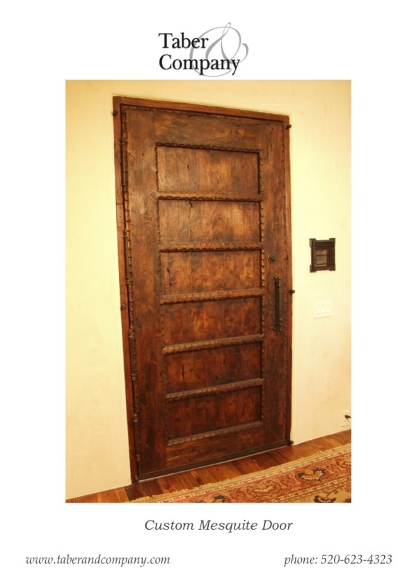 Wood Doors Tuscan, Mediterranean, Spanish Hacienda Style from Taber & Company