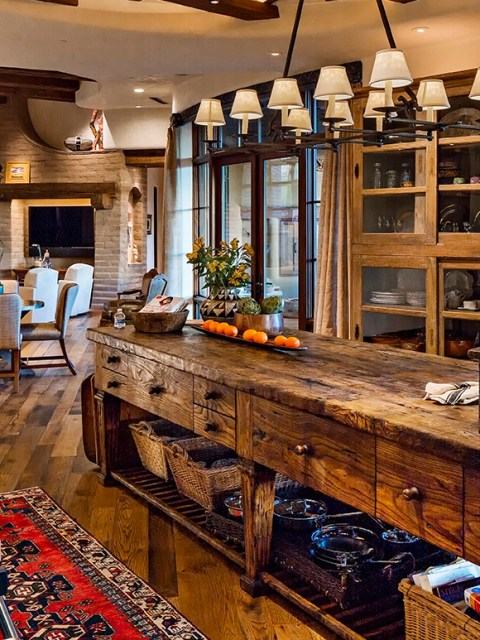 Custom Wood Kitchen Islands custom made wood kitchen islands - taber & companytaber & company
