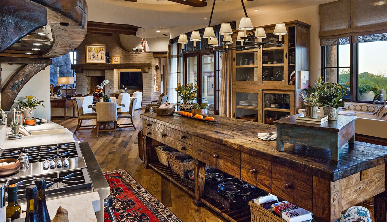 Custom Wood Kitchen Islands, Wood Countertop, Natural Wood Countertop,  Reclaimed Wood Countertops,