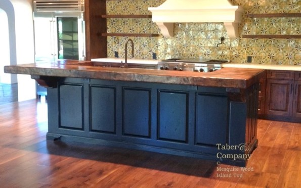 Ii Kitchen Island Wood Top Black Cabinets copy