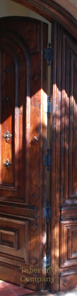 Wood Entry Doors With Sidelights Custom Made - Taber
