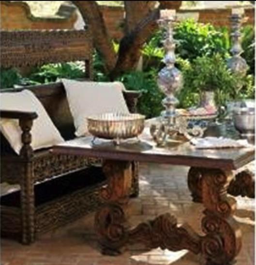 Spanish Hacienda Style Furniture And Architecture Issue Phoenix Home U0026  Garden Issue