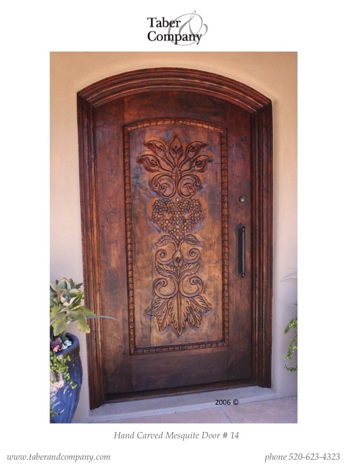 Taber And Companyu0027s Custom Made Arched Wood Entry Doors, Designed To  Compliment All Styles Of Architecture, Using The Highest Quality Woods  Available.