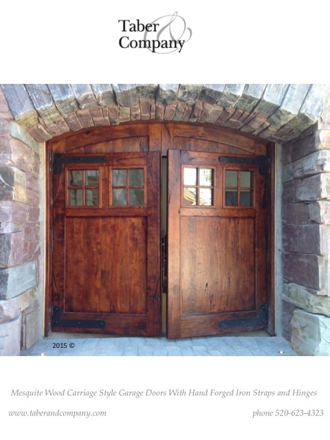 wood carriage style doors, garage doors, old world garage doors, rustic wood garage doors, rustic wood, garage doors or mansions, carriage doors for custom homes, montana doors, craftsmen in wood doors, arizona doors, california doors, architectural openings, doors, exterior doors, reclaimed wood, salvaged od doors, santa barbara style doors, brow top doors, entry gates, wood entrance gates, wooden garage doors,