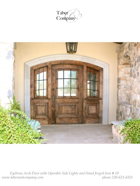 wood entry door with operable sidelights. Wood door with sidelights.