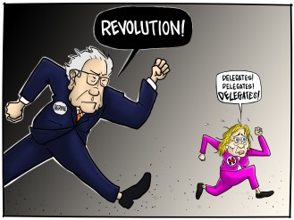 Bernie and HRC Race - Sander's message eclipsed and lived beyond his presidential bid whereas history paints a different story for Clinton
