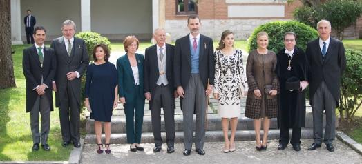 Eduardo Mendoza recibió el Premio Cervantes de manos de Su Majestad el Rey en el Paraninfo de la UAH