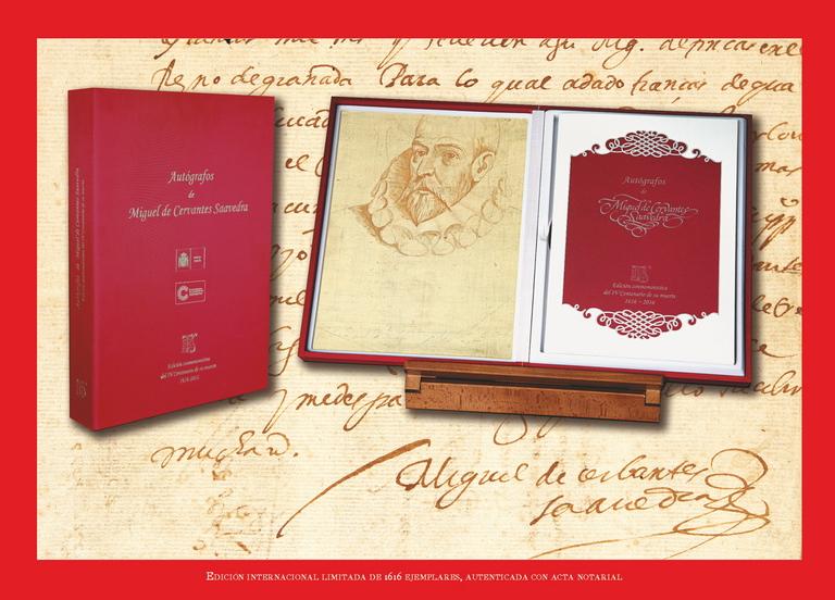 """Dosier de prensa """"Autógrafos Miguel de Cervantes"""""""