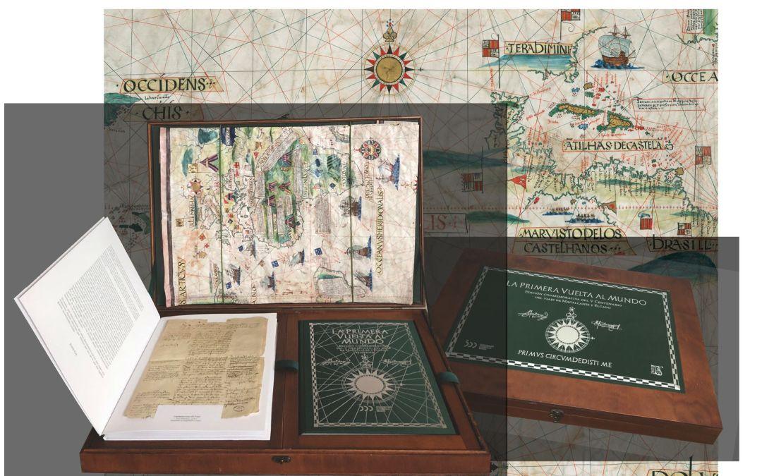 La Primera Vuelta al Mundo – Presentación en el Archivo de Indias, Sevilla