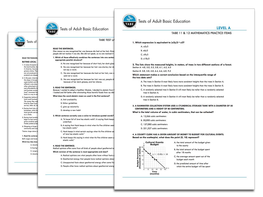 hight resolution of TABE 11\u002612 Sample Practice Items   Tabetest   Tabetest