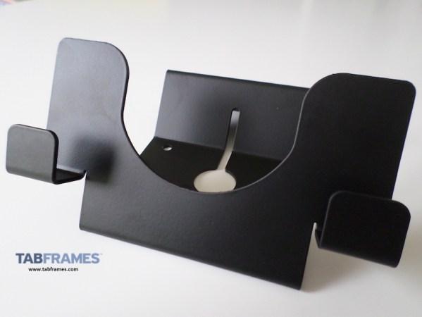 Maclocks Compulocks Universal Tablet Holder, showing stand free standing