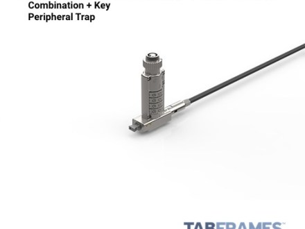 Noble Locks TZ06T Keyed + Resettable Combination Wedge Lock