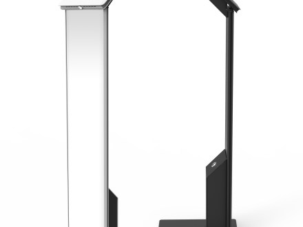 Secure Brandable Floor Stand For iPad