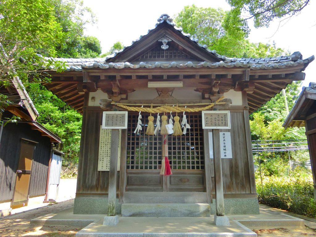 綿津見神社(福岡市東區)   旅人のブログ