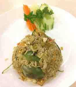 グリーンカレー炒飯