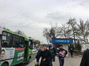 Yunusabadのバス停