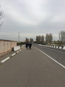 ウズベキスタン国境付近
